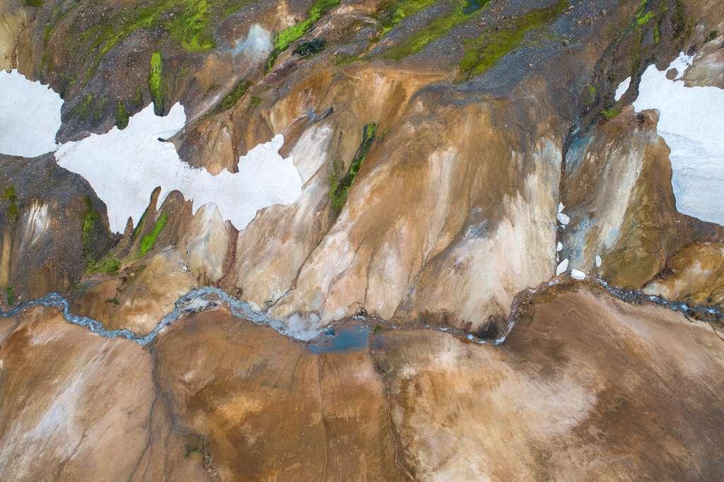 L'Islande vue du ciel : de feu et de glace