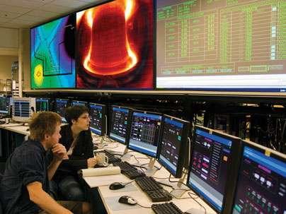 La salle de contrôle du tokamak Alcator C-Mod du MIT. © MIT