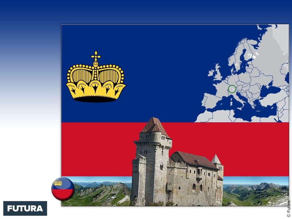 Drapeau : Principauté de Liechtenstein