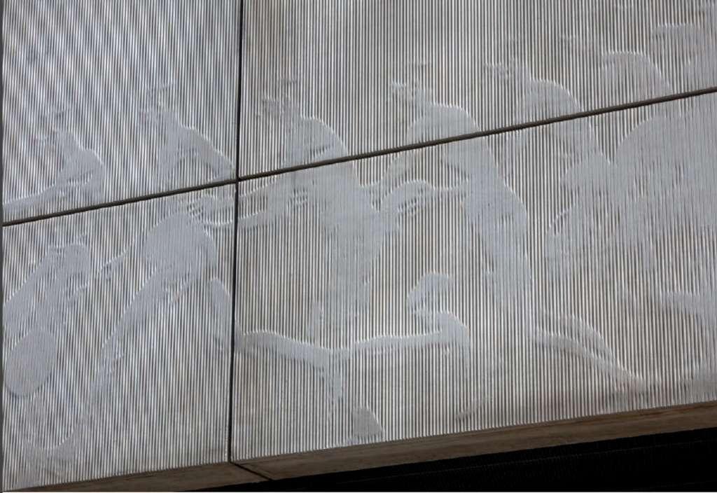 Université Paul Sabatier détail de la façade. © Dunod - DR