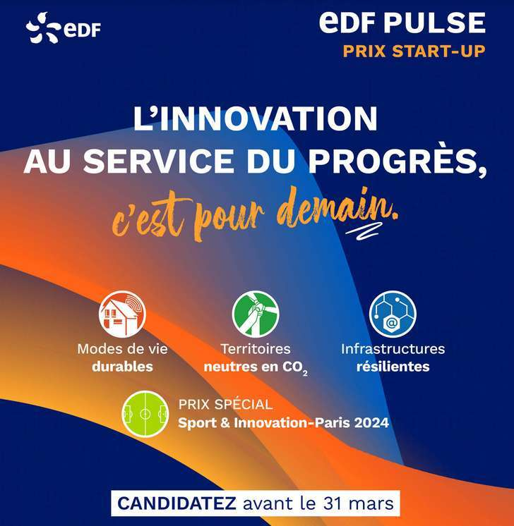 La septième édition des Prix start-up EDF Pulse est officiellement lancée ! © EDF