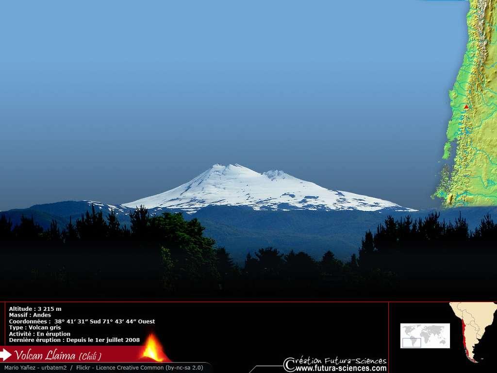 Volcan Lhaïma Chili