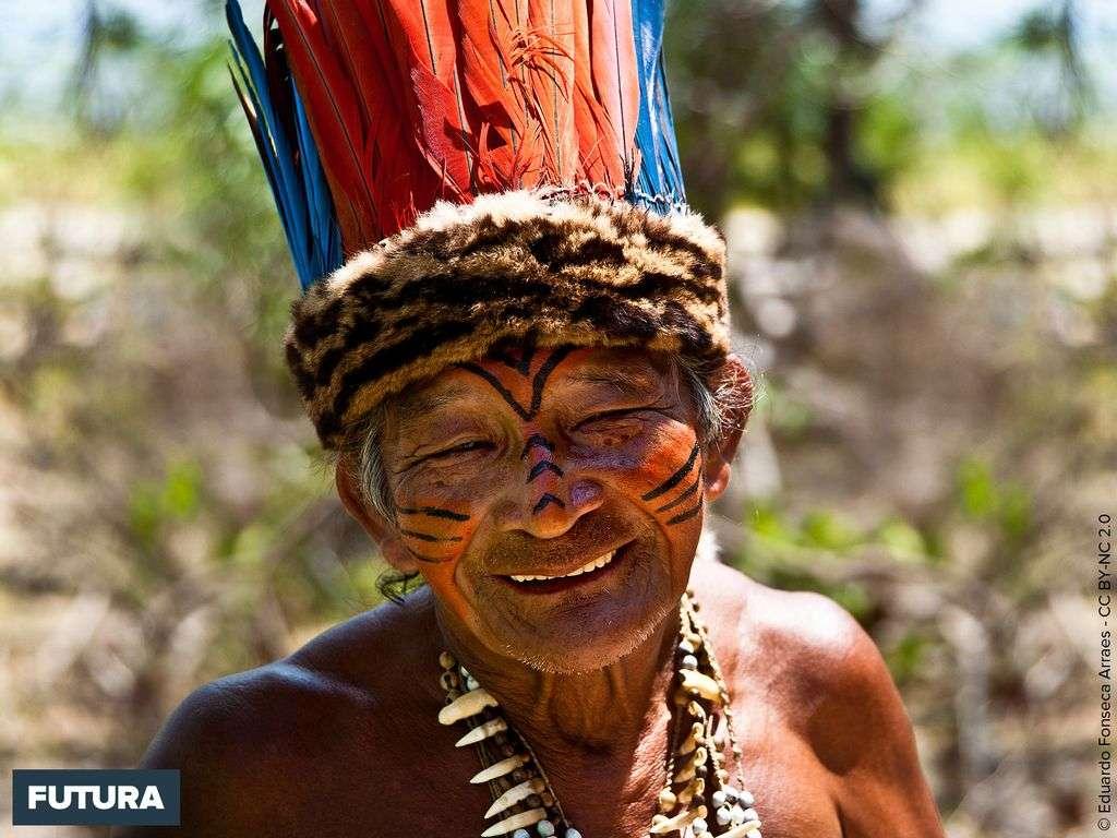 Brésil : Kisibi chef de la tribu Rio des Desana