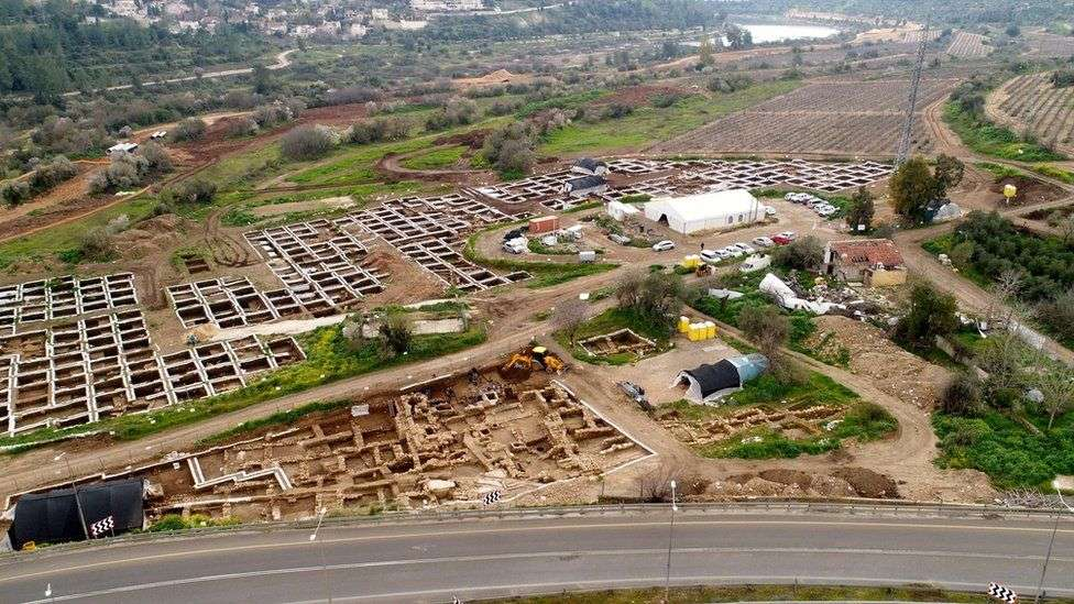La cité néolithique accueillait plus de 3.000 habitants, l'équivalent d'une très grande métropole aujourd'hui. © Israel Antiquities Authority