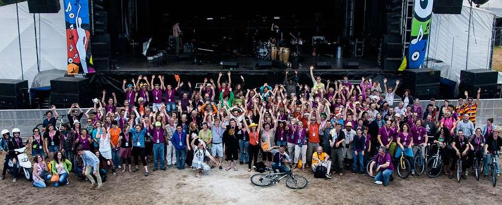 Le festival du Bout du Monde mobilise 1.600 bénévoles et 120 membres organisateurs.© Rocaboy29, Wikimedia Commons, by-sa 4.0