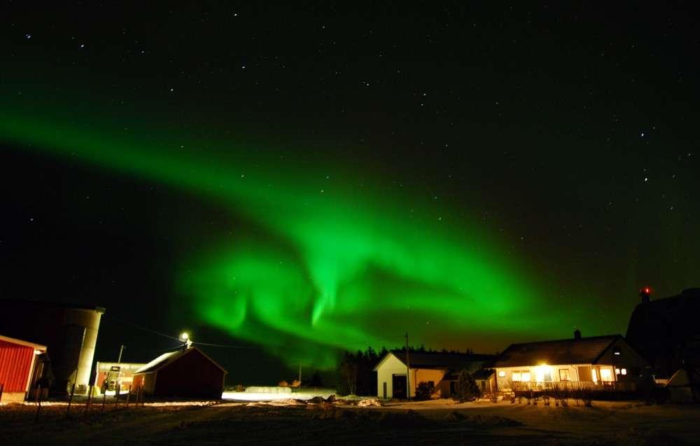 Aurore boréale norvégienne. © Ivan Kravjansky