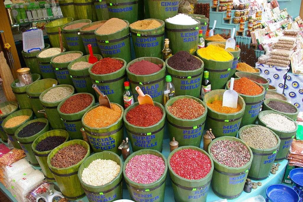 Le commerce des épices a commencé 2.000 ans avant J.-C. au Moyen-Orient. C'est la volonté de contrôle des routes commerciales par l'Europe qui a poussé Vasco de Gama à partir en expédition vers l'Inde, à la fin du XVe siècle. © Yannickmorin, Wikimedia Commons, cc by sa 3.0