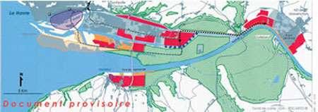 Espaces stratégiques de l'estuaire