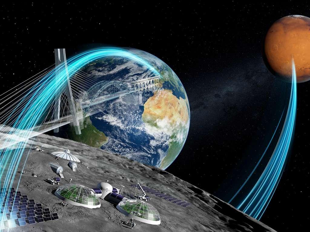 Matthias Maurer : « Contrairement à Elon Musk qui croit que notre futur est dans l'espace et semble convaincu que la Terre est condamnée et souhaite que l'Homme devienne une civilisation spatiale et une espèce multiplanétaire, je pense, au contraire, que notre Planète doit rester notre lieu de vie et qu'il faut la préserver. Cette conquête de l'espace ne doit pas se faire avec l'objectif de trouver une Terre de substitution. Mars ne sera pas notre deuxième planète. La nôtre est là, menacée par nos activités, et il faut faire en sorte de la protéger. Néanmoins, je suis d'accord avec lui sur d'autres points. Nous devons devenir une espèce multiplanétaire car il y a tellement à apprendre dans l'espace. Mais aller dans l'espace, ce n'est pas simple et il faut maîtriser une technologie plus avancée qu'elle ne l'est aujourd'hui. Selon moi, la stratégie de SpaceX qui s'appuie sur la réutilisation est la bonne si l'on veut vraiment explorer l'espace. » © ESA, P. Carril