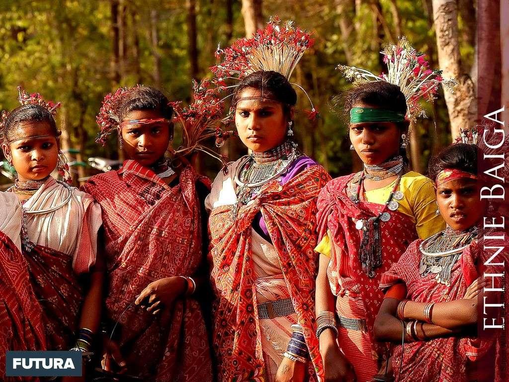 Jeunes femmes Baiga - Inde