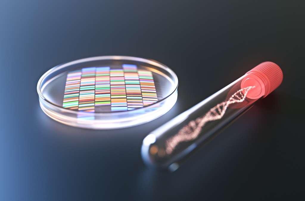 La thérapie génique par CRISPR. © Connect world, Fotolia