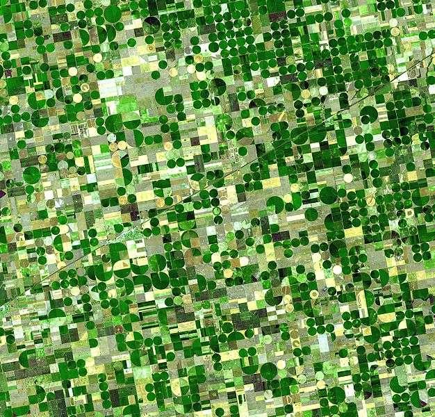 L'agriculture a bénéficié de grandes avancées depuis son apparition il y a 10.000 ans. © Nasa, Wikimedia, domaine public