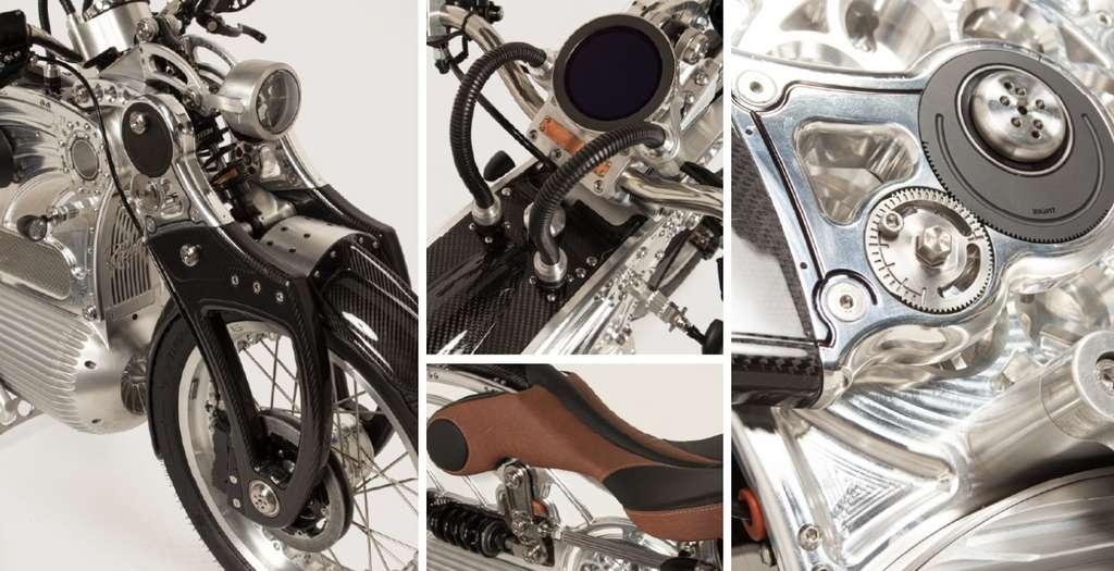 La Curtiss est une magnifique pièce d'ingénierie. © Curtiss Motorcycles