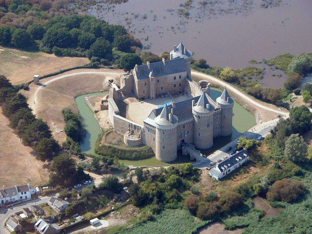 Le château de Suscinio, dans le Morbihan