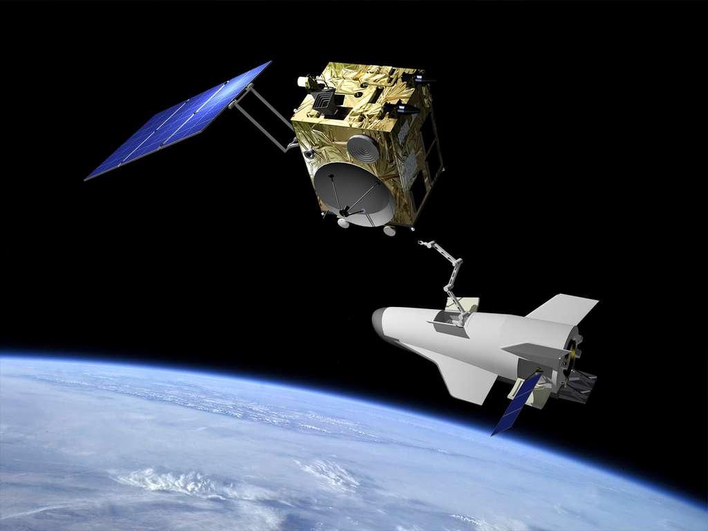 Pride, le projet de véhicule spatial qu'étudie l'Agence spatiale européenne pour succéder à l'IXV. © J. Huart, ESA