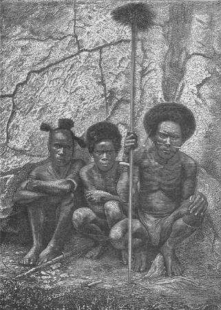 Le peuple des Papous en Nouvelle-Guinée pratiquait le cannibalisme pour honorer les cadavres. C'est ainsi que s'est transmise, dans ce peuple, la maladie de Creutzfeldt-Jakob. © DR