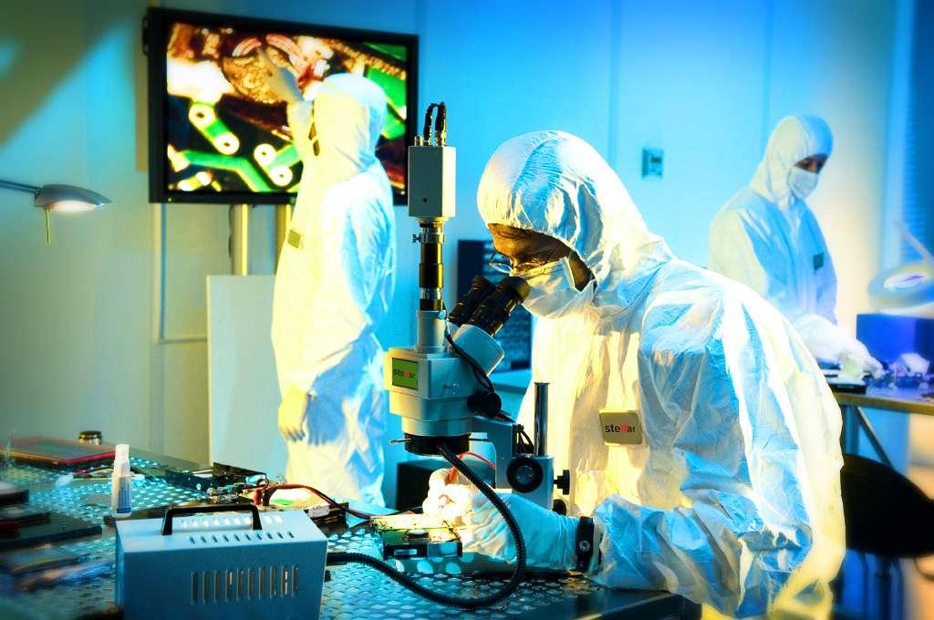 © Grâce à ses services en laboratoire, Stellar s'occupe des cas complexes lorsque le logiciel n'a pas été efficace