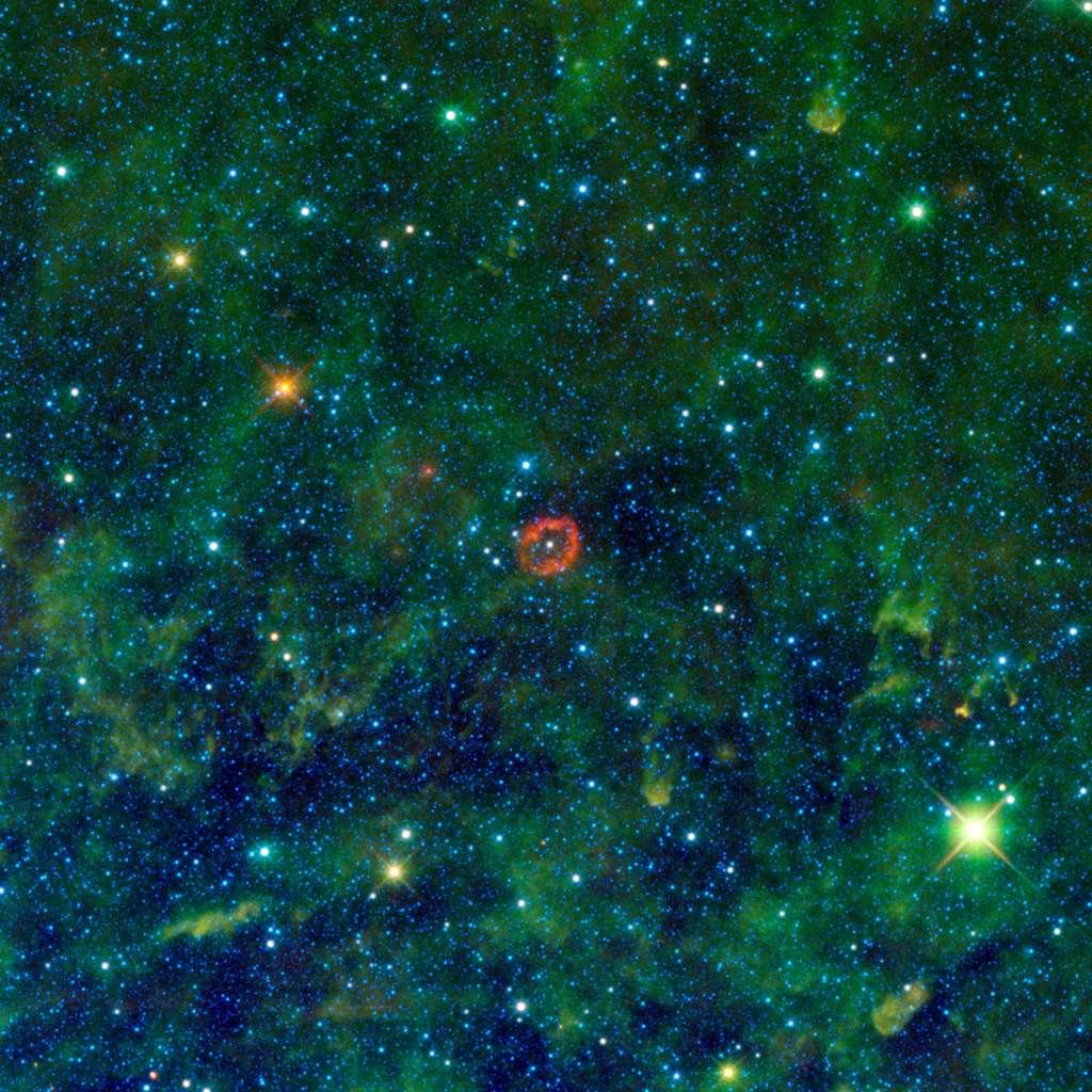 Une étoile des plus massive. © Nasa/JPL-Caltech/UCLA