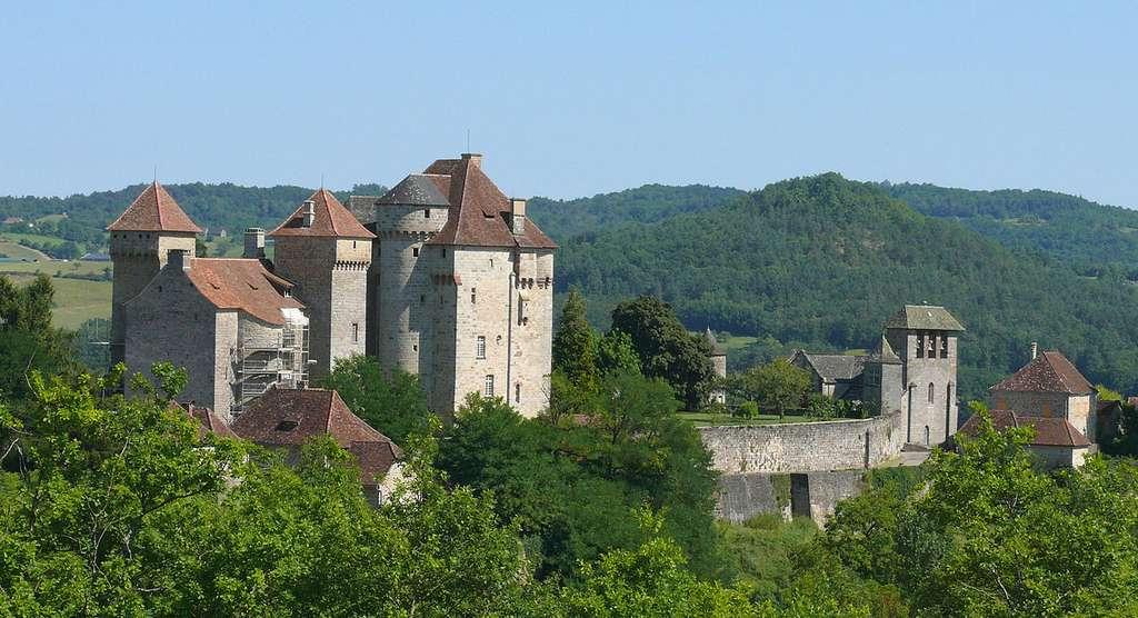 Château de Saint-Hilaire et Plas, à Curemonte. © Mossot, CC by-nc 2.0