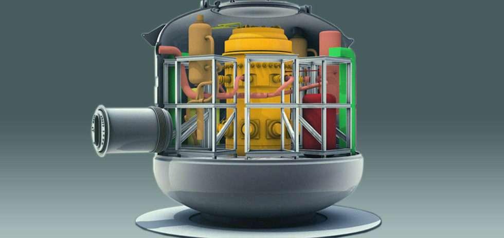 Nuward, le projet de SMR développé par le CEA, EDF et Naval Group et TechnicAtome. © Nuward Consortium