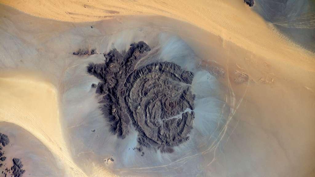 Le Tchad vu de l'espace