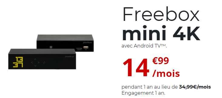 La Freebox 4K à prix cassé © Free