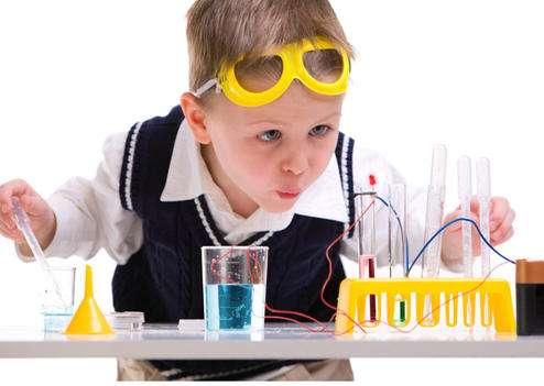 « Manipulez, jouez, expérimentez… » : c'est le thème de la Fête de la science 2011. Chiche... © DR