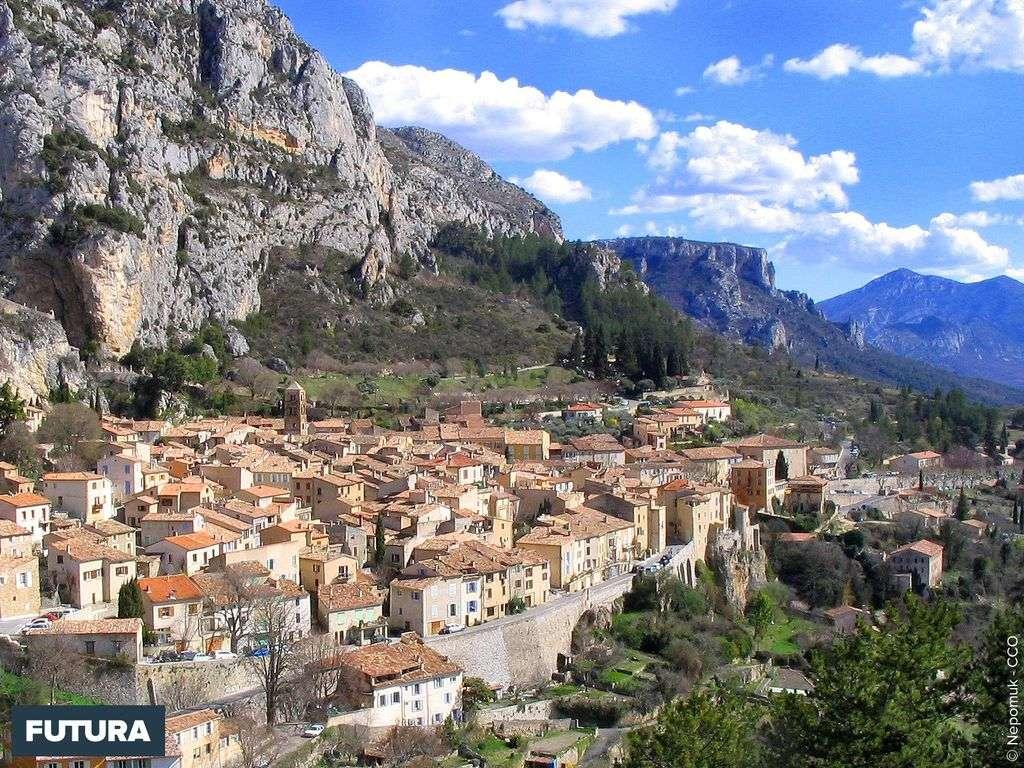 Moustiers-Sainte-Marie Alpes de Haute Provence