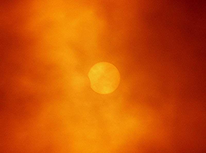 Eclipse de Soleil du 29 mars 2006