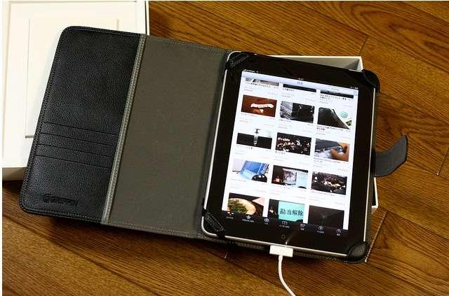 L'iPad, idéal pour la présentation de photographies et de vidéos, moins pour la production de contenus sans accessoire externe. © Tatsuo Yamashita, Creative Commons