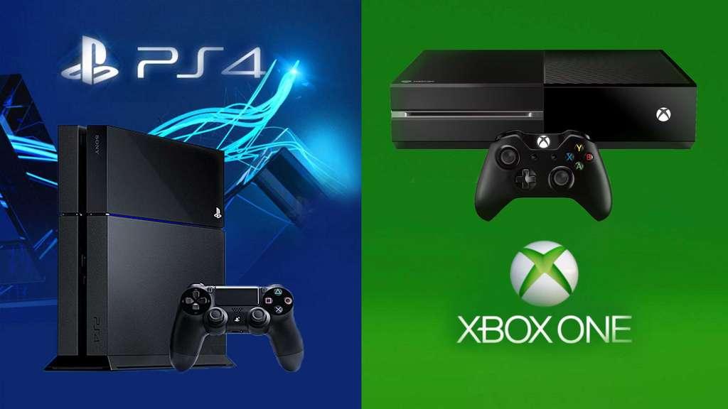 La console Xbox de Microsoft et Playstation de Sony © Netvist