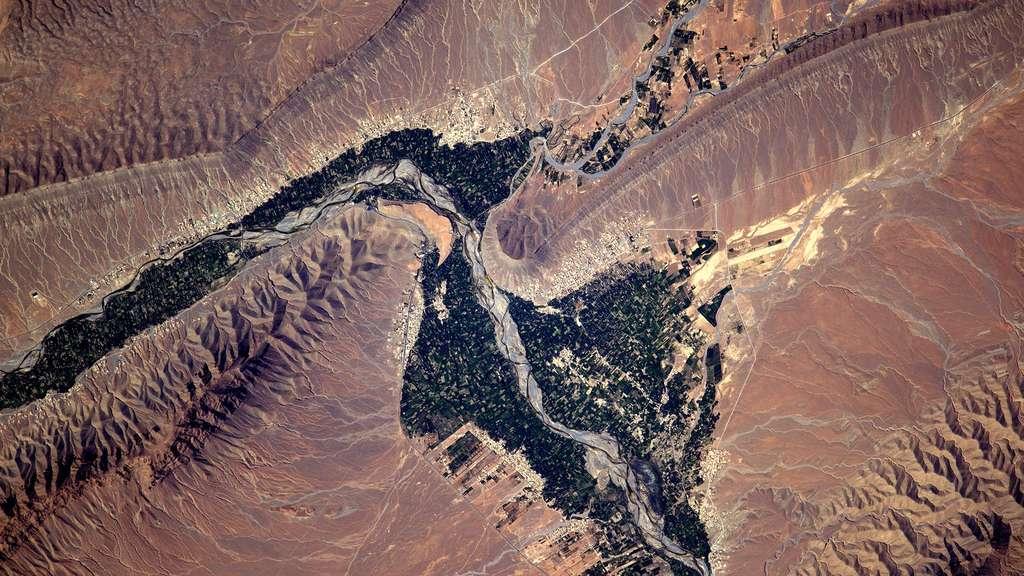 Le Maroc, vu de l'espace. © Esa, Thomas Pesquet