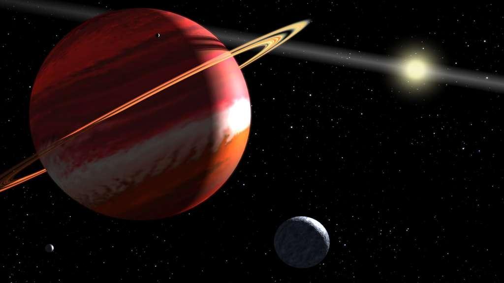 Le système planétaire d'Epsilon Eridani