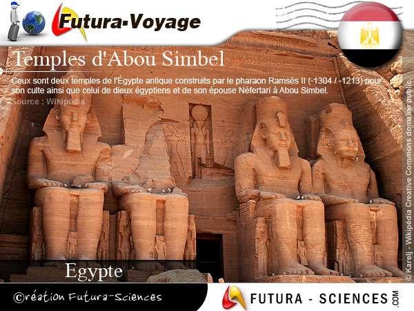 Temple d'Abou Simbel - Egypte
