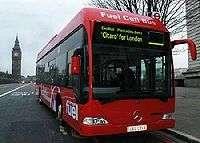 Bus fonctionnant à l'hydrogène