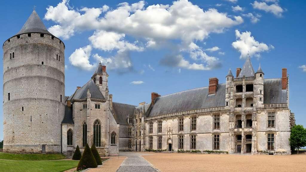 Le château de Chateaudun, condensé de styles