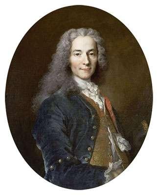 François-Marie Arouet dit Voltaire (1724 ou 1725), d'après Nicolas de Largillière, exposé au château de Versailles. © Collection Palace of Versailles, Wikimedia commons, DP