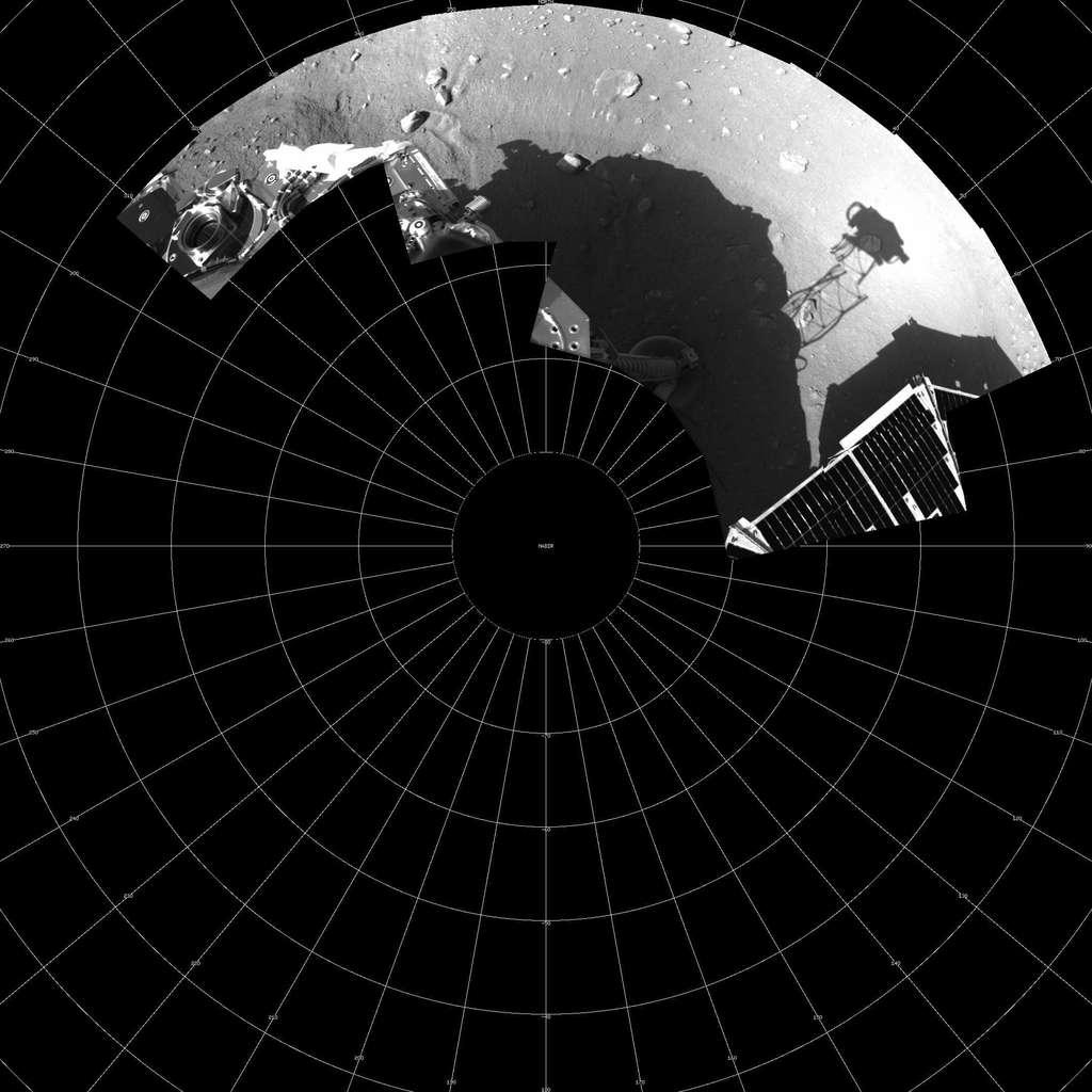 Image panoramique partielle