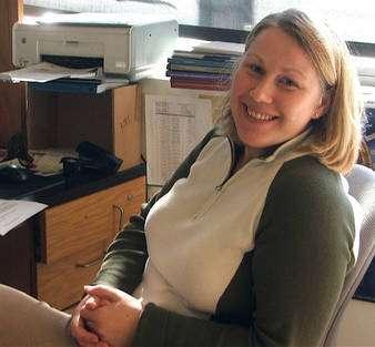 Olga Azarenko, étudiante et premier auteur de l'étude. © Université californienne de Santa Barbara
