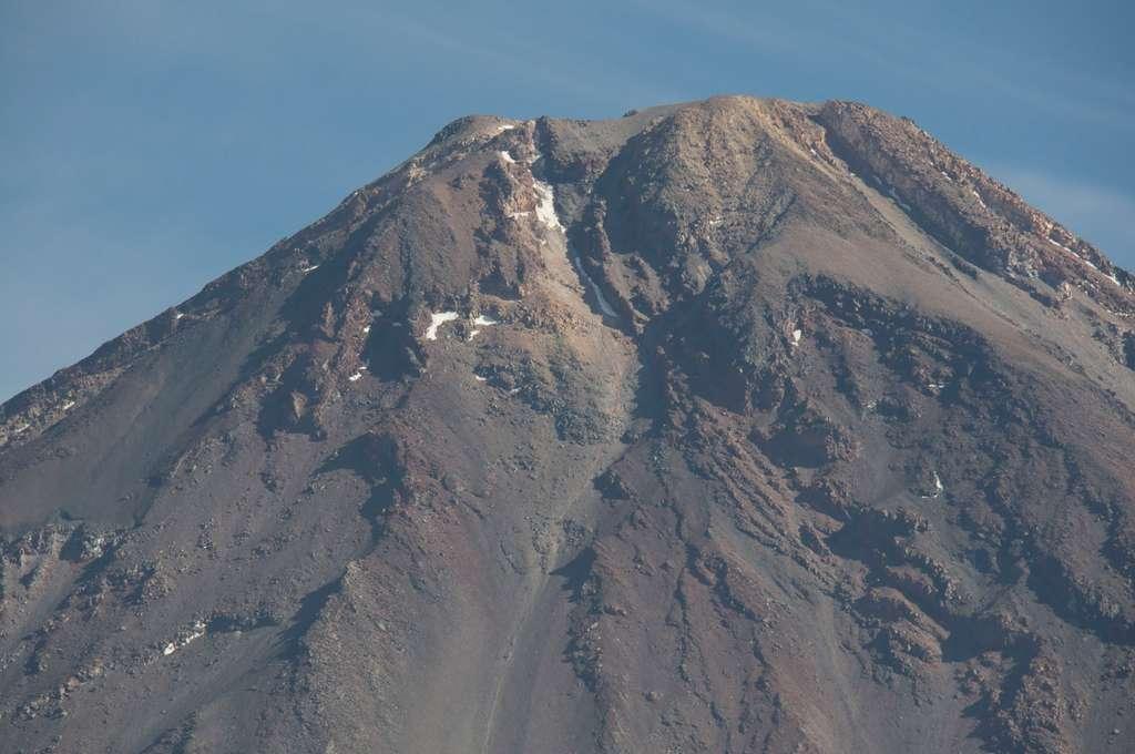 Le sommet du Licancabur