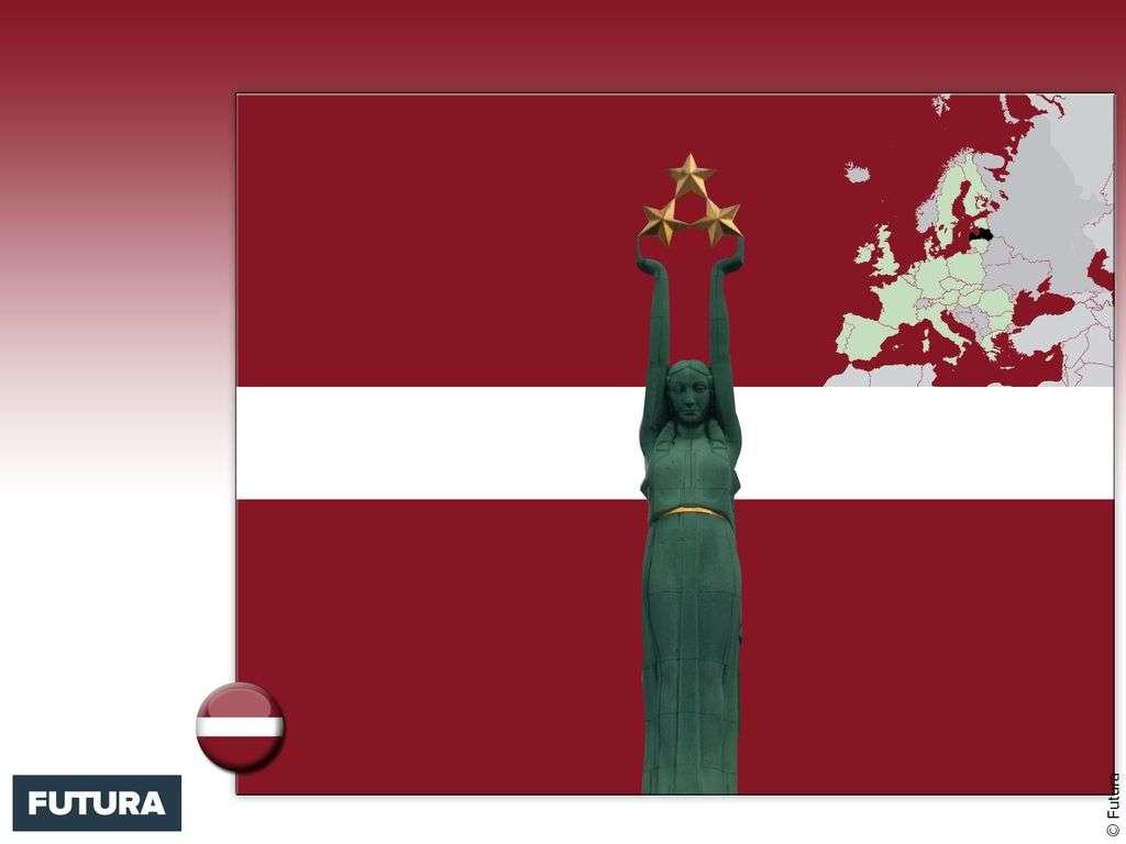 Drapeau : Lettonie