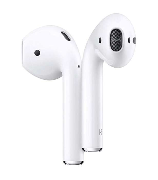 N'offrant certes pas de système de réduction de bruit, les AirPods disposent cependant d'une plus longue autonomie que la version Pro. © Apple Store