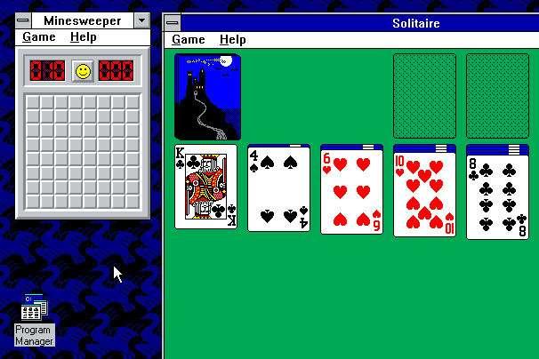 Combien d'heures passées à jouer au Démineur ou au Solitaire ? © Microsoft