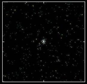 L'une des quatre galaxies naines découvertes par l'équipe de Vasily Belokurov (Crédits : V Belokurov/IoA Cambridge/SDSS)