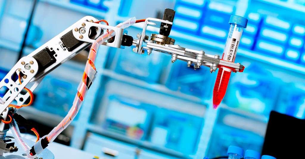 Le collège et le monde universitaire s'ouvrent à la robotique. © Science photo, Shutterstock