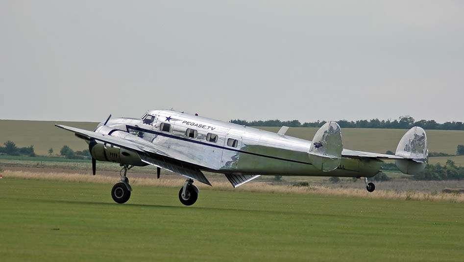 "Lockheed-12 ""Electra"". © Creative Commons"