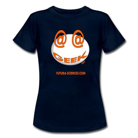 Découvrez l'e-boutique Futura-Sciences qui vous propose une collection de T-shirts en modèle homme et femme avec divers motifs et couleurs. © Futura-Sciences