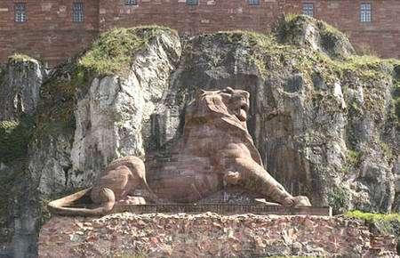 Lion de Belfort. Monument classé Monument Historique. © Thomas Bresson - CC BY-NC 3.0