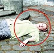 Une victime inconsciente. © Croix-Rouge française, G. Pascaud