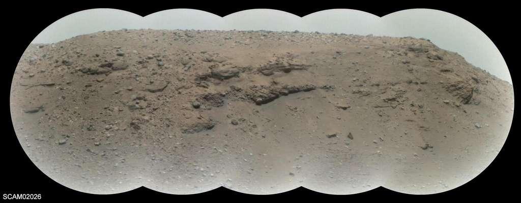 Image du delta prise par Supercam. © Nasa/JPL-Caltech/LANL/Cnes/CNRS/Irap/LPG/Science